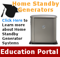 Education about Home Standby Generators